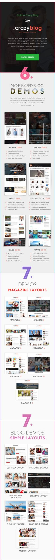 CrazyBlog Start A Blog Or Magazine For Adsense Affiliate Business Template Dice