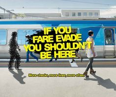 Image result for transport campaigns fare evasion