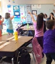 Dance moves to teach subtraction with regrouping.