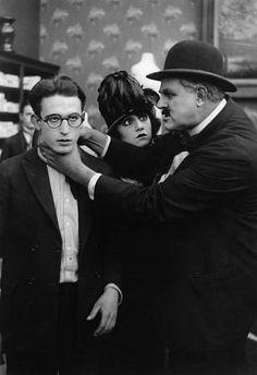 Harold Lloyd, Bebe Daniels, HERE COME THE GIRLS, short, Pathe-Rolin, 1918, **I.V.