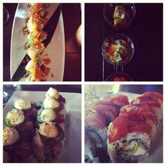 Harney Sushi has great rolls to choose from! #Oceanside #SanDiego #Sushi #HarneySushi