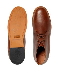Frank Wright Smith Chukka Boots in Leather