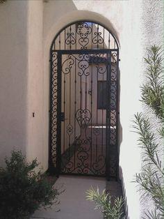 New Modern Front Door Entrance Iron Ideas Front Door With Screen, Iron Front Door, Modern Front Door, Front Door Entrance, Front Gates, Modern Entry, Entry Gates, Wrought Iron Gate Designs, Wrought Iron Doors