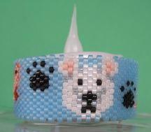 New! Polar Bear Tea Light Cover Patttern