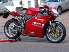The Ducati 998S, which produced a few extra horsepower over the standard 996. The extra horsepower was nice, but the real benefit in buying an 'S' model was the upgraded suspension and Termignoni exhausts.