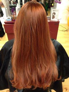 Beautiful Copper Red!