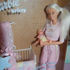 Barbie  and krissy bedtime by sunnyshop211 on Etsy