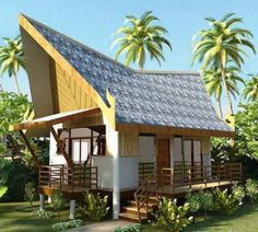 18 most inspiring nipa images tiny houses bamboo architecture rh pinterest com