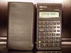 Calculatrice-calculator-Hewlett-Packard-HP-10B-business