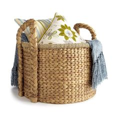 Naturally woven baskets make practical and charming gifts Everybody needs stuff to hold their stuff.