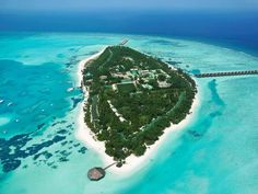 16 Cheapest overwater bungalow and water villa resorts in the world - Meeru Island Resort & Spa - Maldives Maldives Destinations, Travel Destinations Beach, Travel Deals, Holiday Destinations, Travel Guide, Meeru Island Maldives, Maldives Islands, Resort Villa, Resort Spa