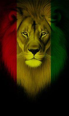 Lion King Art, Lion Of Judah, Lion Art, Reggae Art, Reggae Style, Rasta Art, Rasta Lion, Arte Bob Marley, Rastafari Art