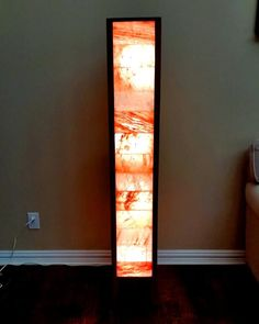 Items similar to Danish Modern Himalayan Salt Floor Lamp on Etsy Himalayan Salt Room, Massage Room Decor, Ideas Habitaciones, Salt Cave, Unique Floor Lamps, Open Concept Home, Dramatic Lighting, Led, Danish Modern