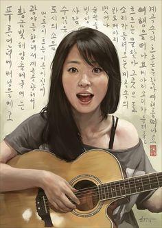 Girl friend / painter10 / 2012