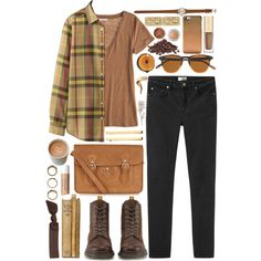 """Love the boots! Dr.Martens: $97, gravitypope.com  Protect your leather investment with WhooHoo-Clean Leather Care. Don't let your leather dry out!  """"Brownie"""" by jellytime on Polyvore"""
