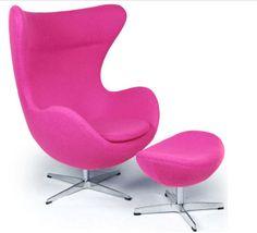 Beau Pink Egg Chair