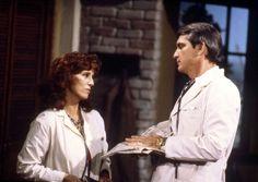 #GH50 #GeneralHospital 1970s, Denise Alexander (Dr. Leslie Webber) and Chris Robinson (Dr. Rick Webber)