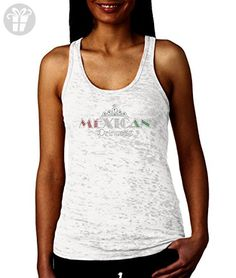 83c0b980edab9 Mexican Princess Racerback WOMENS Tank Top (XS, WHITE) - Eat sleep repeat t