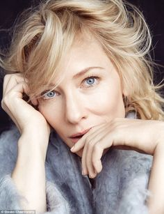 Australian actress Cate Blanchett gets her closeup for the Cannes Film Festival issue of Variety Magazine. The blonde star poses for Steven Chee in a series of… Cate Blanchett Carol, Variety Magazine, Best Actress, Female Portrait, Lesbian, Portrait Photography, Actors & Actresses, Instagram, Portraits