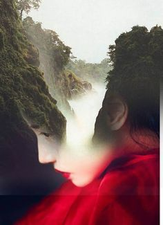 """Double exposure portraits by Spanish-based artist Antonio Mora (a.k.a. Mylovt) blend human and nature worlds into surreal hybrid artworks."""