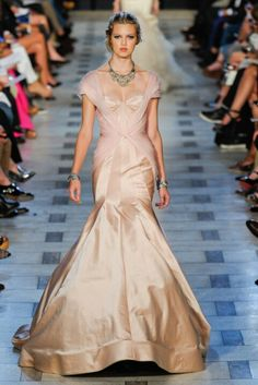 Old Hollywood Glamour on the runway.