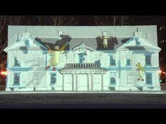 第64回さっぽろ雪まつり プロジェクションマッピング - YouTube