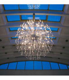 Suspension Brilliant Nash XXL x cm Lustre Baroque, Piece A Vivre, Decoration, Chrome, Chandelier, Ceiling Lights, Lighting, Interior, Design