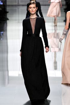 Dior - a forever winter formal gown
