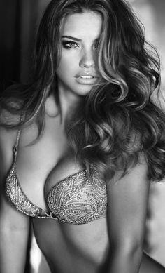 Adriana Lima. My girl crush/thinspiration