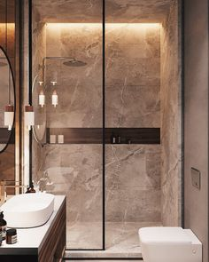 salle-de-bain Badezimmer Inspiration // Loft Interior You should s Scandinavian Bathroom Inspiration, Bathroom Design Inspiration, Bad Inspiration, Design Ideas, Furniture Inspiration, Scandinavian Style, Interior Inspiration, Loft Bathroom, Guest Bathrooms