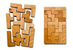 Puzzles for Kids - Flat Puzzle Pattern