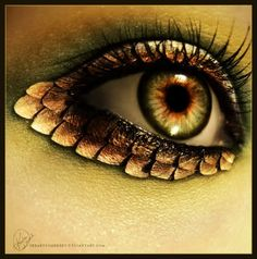 Browse all of the Eye Dragon Makeup Snake Eye Art photos, GIFs and videos. Find just what you& looking for on Photobucket Sfx Makeup, Costume Makeup, Makeup Art, Makeup Eyeshadow, Makeup Ideas, Fairy Makeup, Mermaid Makeup, Eyeshadows, Dragon Makeup