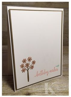 """Faithful INKspirations: Creation Station New Catalog Blog Hop is made with Stampin' Up's """"Totally Trees"""" stamp set."""