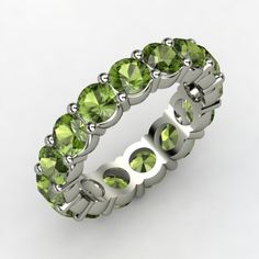 Peridot Band of Brilliance