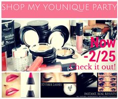 Shop my very first online Younique Party!   https://www.youniqueproducts.com/caitlinconroy/party/1388620/view