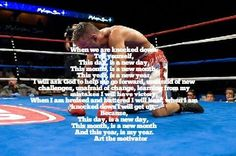 Vaughn motivations and meditations Art the motivator When we are knocked down.