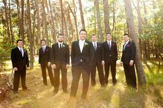 groomsmen. LUV this shot!