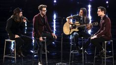 """The Voice: Cole Vosbury, James Wolpert and Will Champlin: """"More Than Words"""""""