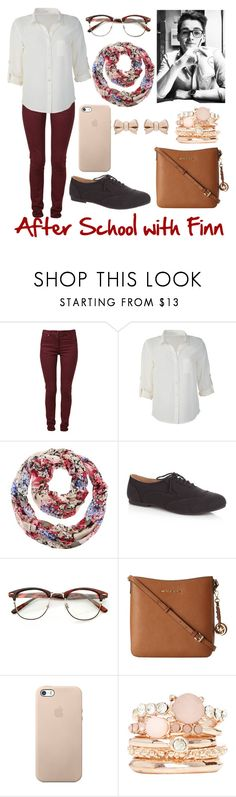 """After School with Finn Harries"" by elise-22 ❤ liked on Polyvore featuring Maison Margiela, White House Black Market, MICHAEL Michael Kors, 2b bebe and Thomas Sabo"