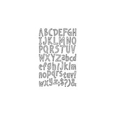 River City Rubber Works: Alphabet Outline ❤ liked on Polyvore featuring words, fillers, text, quotes, backgrounds, doodles, phrases, pattern, saying and scribble