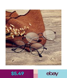00e90e52f21 Eyeglass Frames Vintage Retro Eyeglass Frame Man Women Clear Glass Full-Rim  Glasses Frames