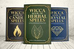 Wicca Spellbook Starter Kit: A Book of Candle, Crystal, and Herbal Spells by Lisa Chamberlain Wiccan Books, Wiccan Spells, Candle Spells, Love Spells, The Witcher, Tarot, Wicca For Beginners, Manipulation, Meditation