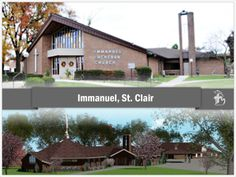 Immanuel Lutheran Church in St. Clair, Michigan. The church offers a preschool and day care for the community.