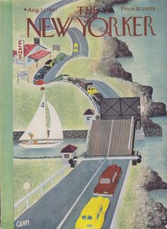 Summer holidays are here!  New Yorker, August 1947