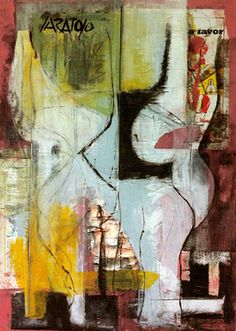 """""""Untitled"""" original abstract painting by artist Bruno Varatojo (Portugal) available at Saatchi Art #SaatchiArt."""