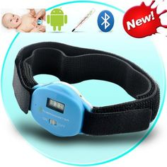 Bluetooth Digital Thermometer for Android Devices - LCD Display, Wireless Remote Monitoring