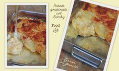 patate gratinate al gorgonzola col bimby