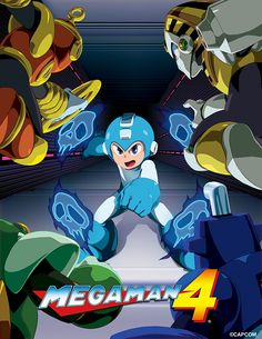 Legacy Collection - Mega Man 4 by theCHAMBA.deviantart.com on @DeviantArt