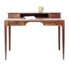 Bureau hout - Kare Design Brooklyn Walnut - Onlinedesignmeubel.be