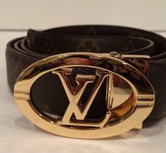 Monogram LV Circle Belt. Get the lowest price on Monogram LV Circle Belt and other fabulous designer clothing and accessories! Shop Tradesy now